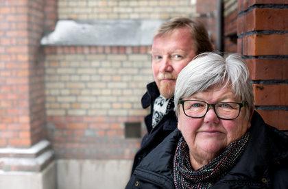 LO Stats leder Tone Rønoldtangen og nestleder Eivind Gran venter tøffe tak under årets tariffoppgjør. Foto: Ole Palmstrøm
