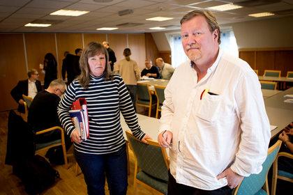 Eivind Gran leder LO Stats forhandlingsutvalg i Spekter, og Lise Olsen har arbeidsgiverforeningen som sitt hovedansvarsområde. Ole Palmstrøm