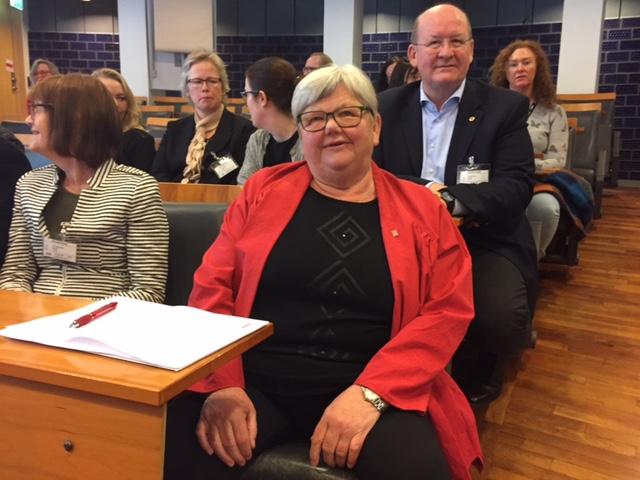 Tone Rønoldtangen ved oppstart for hovedoppgjøret i staten 2016