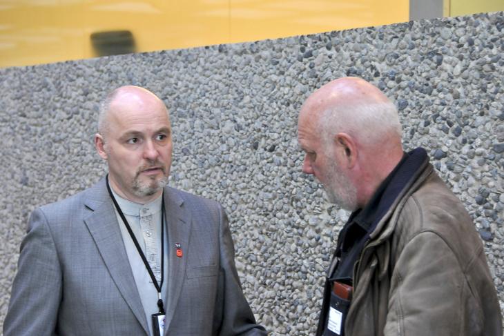 - Vi er skuffet over at arbeidsgiverne heller ikke denne gang, har evne eller vilje til å forhandle fram en løsning, sier Dag-Einar Sivertsen, forhandlingsleder og 2. nestleder  i Norsk Transportarbeiderforbund.