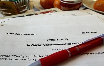 NTL og NRK kom ikke til enighet i årets lønnsoppgjør. Nå venter mekling.