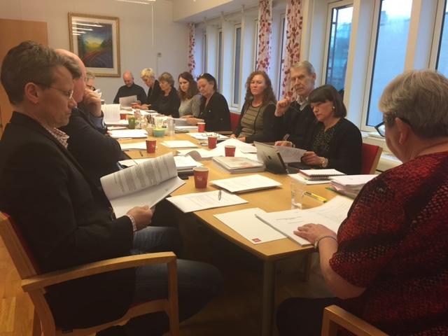 Forhandlingsutvalget i arbeid kveld 30.april