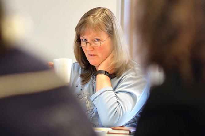 - Vi kan ikke se på at de med lavest inntekt skal være med å bidra til at de med høyest lønn skal få mer, sier Lise Olsen, forhandlingsleder for LO Stat.