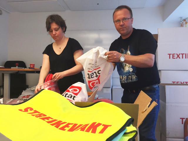 LO Stat Hedmark, Oppland, Oslo og Akershusstreike forbereder seg på en eventuell streik
