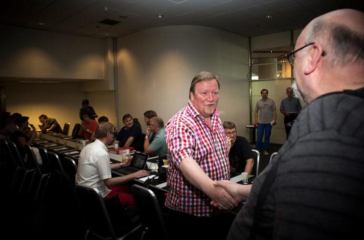 MANGE INVOLVERTE: Eivind Gran er forhandlingsleder i den store delegasjonen fra LO Stat.