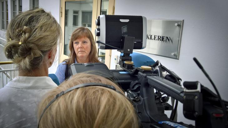 MEKLING: Forhandlingsleder Lise Olsen i LO Stat mener saken kunne vært løst lenge før mekling.