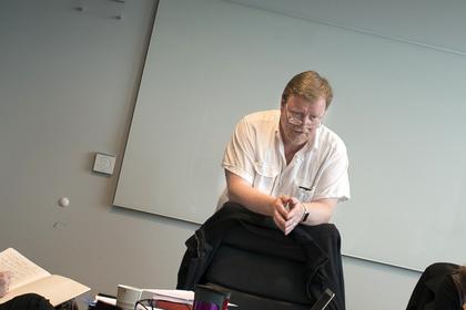 URAVSTEMNING: LO Stats forhandlingsleder Eivind Gran oppfordrer medlemmene til å stemme i uravstemningen innen fristen 19. august.