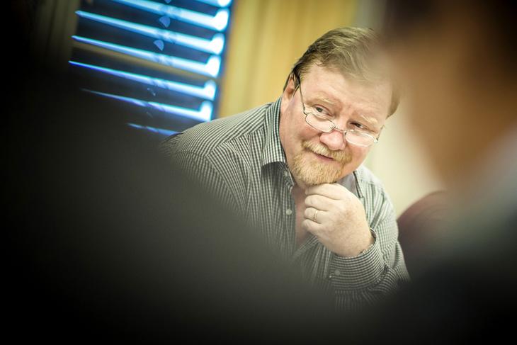 Eivind Gran, nestleder i LO Stat og forhandlingsleder i Spekter-oppgjøret