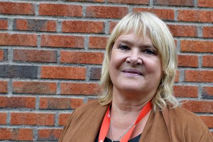 Jane B. Sæthre, nestleder i Norsk Jernbaneforbund (NJF)