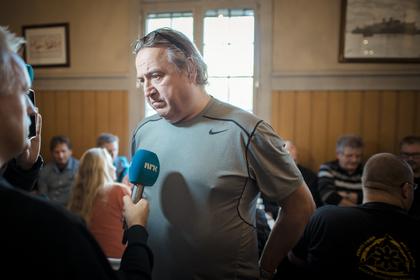Rolf Ringdal, forbundsleder i Norsk Lokomotivmannsforbund
