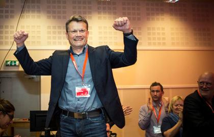 Egil Andre aas (NOF) er LO Stats nye leder