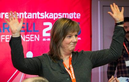 Lise Olsen blir en av to nestledere i LO Stat