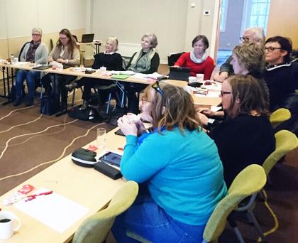 Kursdeltakere, kurs i kommunikasjon 16. - 17 januar