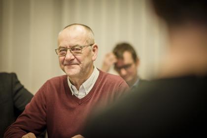 Øystein Gudbrands,  LO Stats forhandlingsleder.