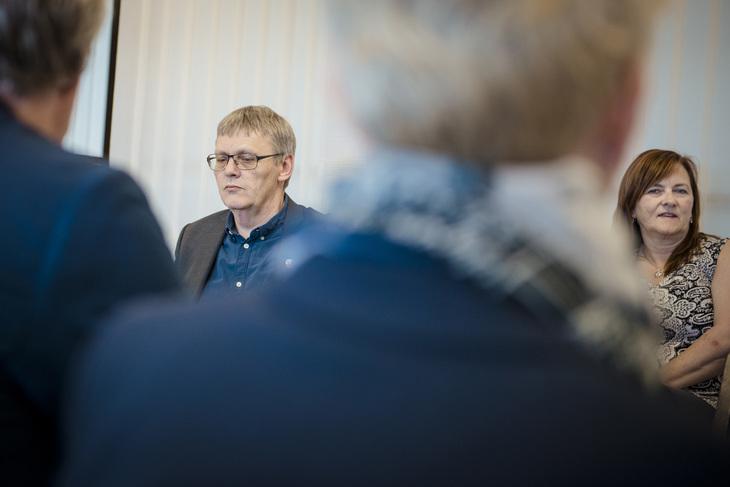 - Det er helt uforståelig for oss at kirken i Bergen ikke vil at de ansatte i kirkekonsernet Akasia skal ha en anstendig pensjon, sier nestleder i Fagforbundet Odd Haldgeir Larsen.
