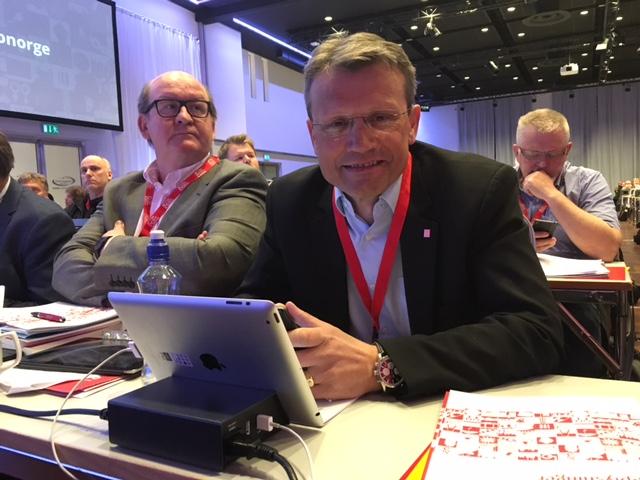 John Leirvaag og Egil André Aas
