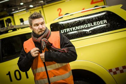 RETTFERDIG LØNN: - Vi aksepterer ikke store forskjeller og urettferdighet på jobben, sier Ruben Frendal, tillitsvalgt i Falck Brann og Redning.