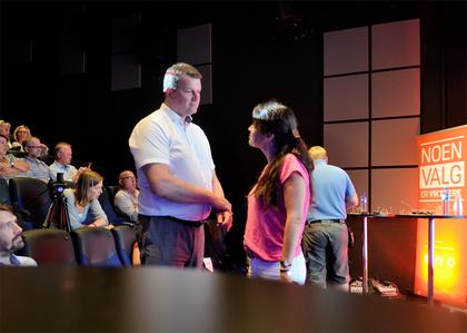 LO og Spekter møttes til debatt i Arendal