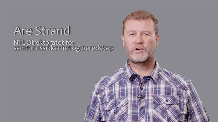 Are Strand, NTL Direktoratet for samfunnssikkerhet og beredskap
