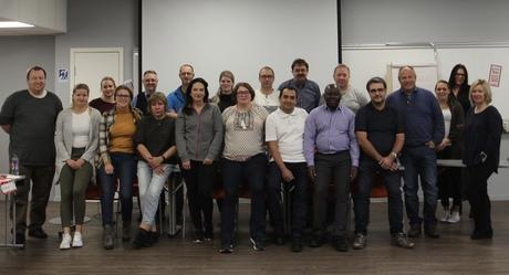 Kurs i organisasjonskunnskap. Sørmarka, oktober 2017