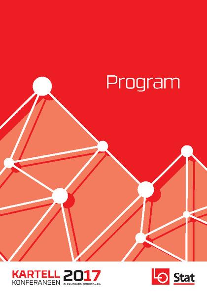 Program - Kartellkonferansen 2017