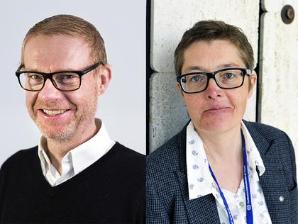 Kristian Brustad og Reneé Rasmussen