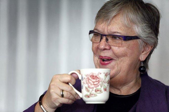 RIKSMEKLEREN: Kari Gjesteby får en tøff jobb med å finne en løsning i statsoppgjøret.