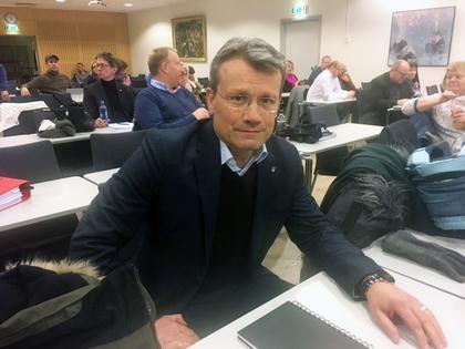 LO Stats leder Egil André Aas under pensjonsforhandlingene