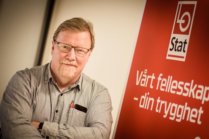 LO Stats nestleder Eivind Gran leder Spekter-forhandlingene.