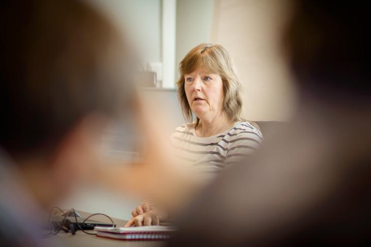 MEKLING: Nå blir det mekling og streikefare i NRK for Lise Olsen, forhandlingsleder og nestleder i LO Stat.