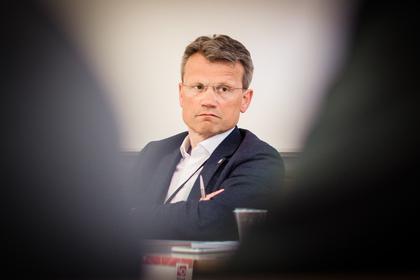 MEKLING: LO Stats leder Egil André Aas leder meklingen i staten.