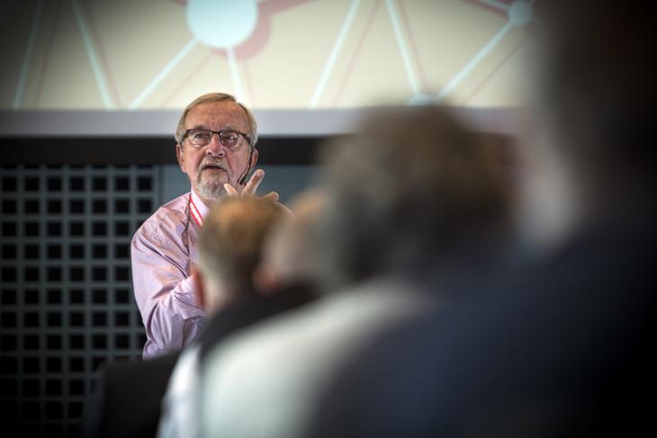 VELFERDSSTATEN: - Vi har vært både arkitekt og byggherre, sier tidligere LO-leder Yngve Hågensen.