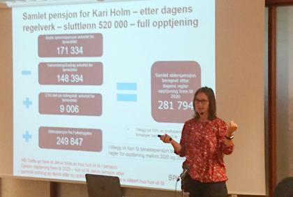 Rachel Husebø Chambenoit fra SPK