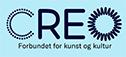 CREO - Forbundet for kunst og kultur. Logoen