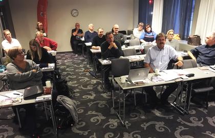 Styremøte i LO Stat fylkesutvalg i Rogaland og Agder 8 og 9 november