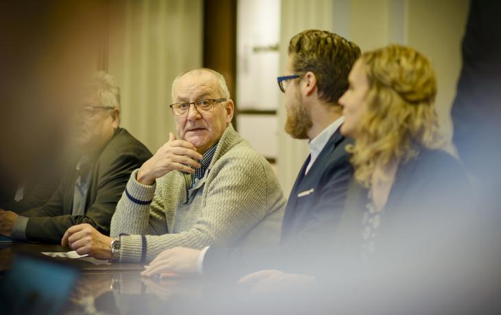 Øystein Gudbrands, LO Stats forhandlingsleder