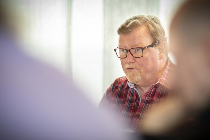 AVVISER: LO Stats nestleder Eivind Gran avviser Spekters råd om at det er lovhjemmel for to dagers varslingsfrist for permitteringer på grunn av koronaviruset.
