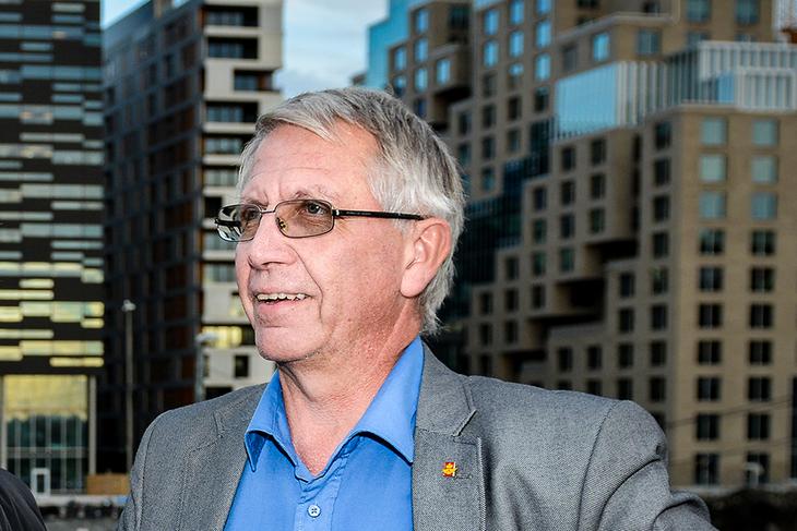Tidligere leder av LO Stat, Terje Moe Gustavsen