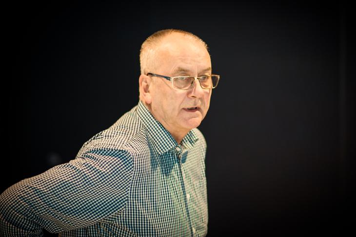 MEKLING: LO Stats forhandlingsleder Øystein Gudbrands ruster seg for mekling i sykehusene.
