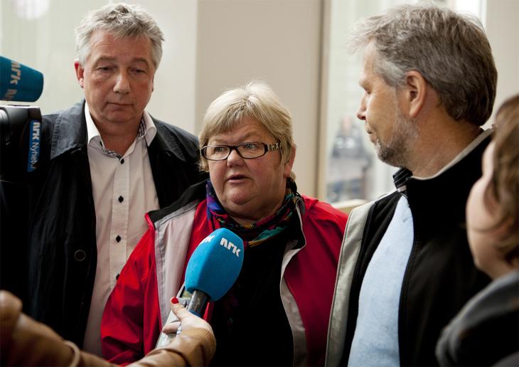 ALLE PÅ PLASS: Troikaen Pål N. Arnesen, Tone Rønoldtangen og Arne Johannessen kan konstatere at streiken i staten er over. Nå må de få medlemmene i YS Stat, LO Stat og Unio til å delta i uravstemningen.