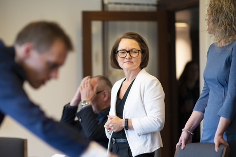 STREIK: Fagforbundets nestleder Sissel M. Skoghaug mener Spekters nei til pensjon er blodig urettferdig.