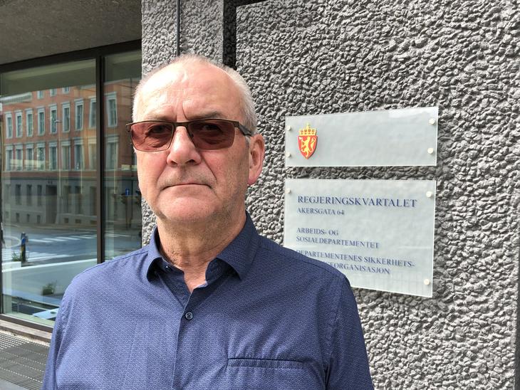 GRUNNLOVSBRUDD: - Vi mener LOs forbund aldri skulle blitt omfattet av lønnsnemd, sier LO Stats forhandlingsleder Øystein Gudbrands.