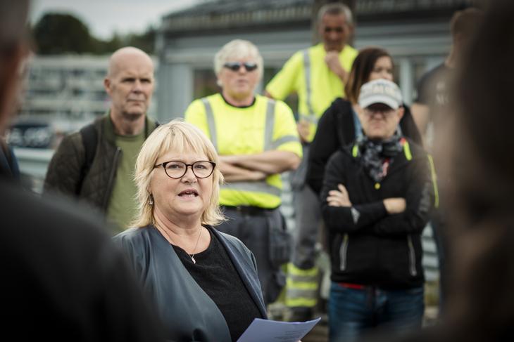- NJF mener at dagens regelverk er et minimum av det vi trenger for trygg og sikker jernbane, sier Jane Brekkhus Sætre, forbundsleder i Norsk Jernbaneforbund (NJF)