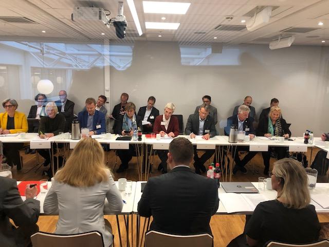 Forhandlinger om særaldersgrenser 17.oktober 2019