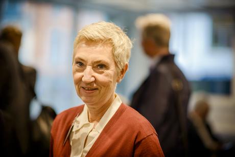 LEDER FORHANDLINGENE: LO-nestleder Peggy Hessen Følsvik leder forhandlingene om særalderspensjon.