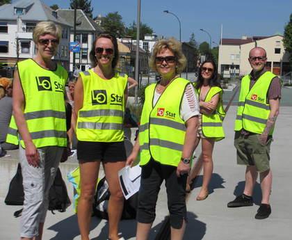 Stavanger 2012: Streik i staten