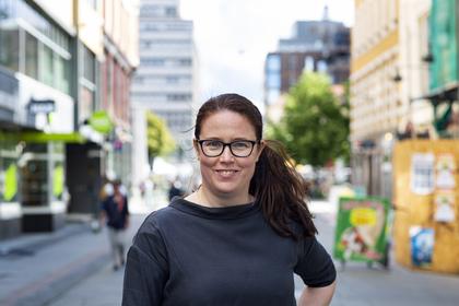 NTL-leder Kjersti Barsok