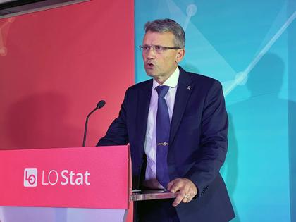 Egil André Aas fortsetter som LO Stats leder