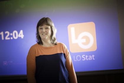 DIGITALE FORHANDLINGER: LO Stats forhandlingsleder Lise Olsen kom i mål med et lønnsoppgjør i tråd med resultatet for Frontfaget mellom LO og NHO.