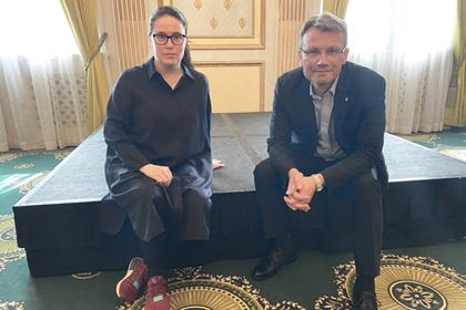 NTL-leder Kjersti Barsok og LO Stats leder Egil André Aas er i havn med meklinga i statsoppgjøret.